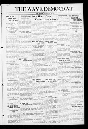 Primary view of The Wave-Democrat (Enid, Okla.), Vol. 2, No. 188, Ed. 1 Saturday, September 24, 1910