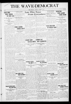 Primary view of object titled 'The Wave-Democrat (Enid, Okla.), Vol. 2, No. 204, Ed. 1 Thursday, October 13, 1910'.