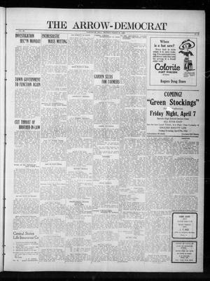Primary view of The Arrow-Democrat (Tahlequah, Okla.), Vol. 39, No. 12, Ed. 1 Thursday, March 30, 1922