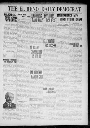 Primary view of object titled 'The El Reno Daily Democrat (El Reno, Okla.), Vol. 31, No. 271, Ed. 1 Wednesday, July 5, 1922'.