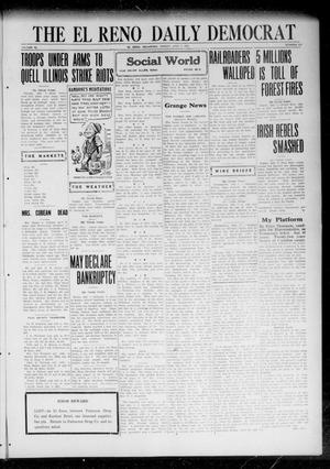Primary view of object titled 'The El Reno Daily Democrat (El Reno, Okla.), Vol. 31, No. 273, Ed. 1 Friday, July 7, 1922'.