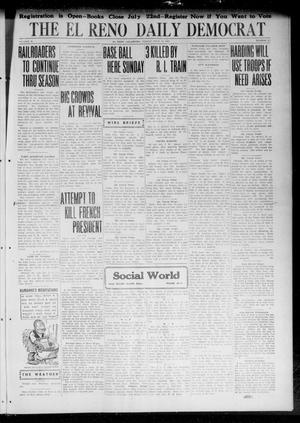 Primary view of object titled 'The El Reno Daily Democrat (El Reno, Okla.), Vol. 31, No. 279, Ed. 1 Friday, July 14, 1922'.