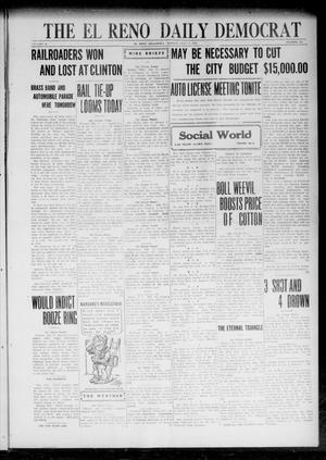 Primary view of object titled 'The El Reno Daily Democrat (El Reno, Okla.), Vol. 31, No. 281, Ed. 1 Monday, July 17, 1922'.