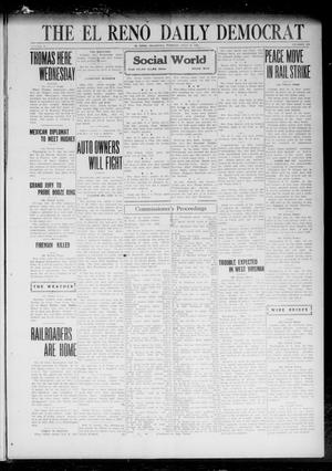 Primary view of object titled 'The El Reno Daily Democrat (El Reno, Okla.), Vol. 31, No. 282, Ed. 1 Tuesday, July 18, 1922'.