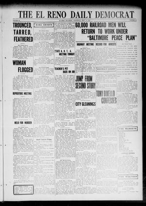 Primary view of object titled 'The El Reno Daily Democrat (El Reno, Okla.), Vol. 32, No. 16, Ed. 1 Wednesday, September 13, 1922'.