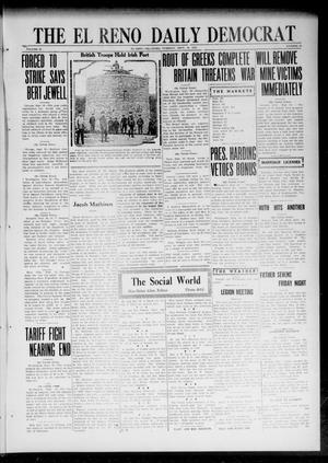 Primary view of object titled 'The El Reno Daily Democrat (El Reno, Okla.), Vol. 32, No. 20, Ed. 1 Tuesday, September 19, 1922'.