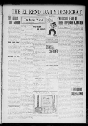 Primary view of object titled 'The El Reno Daily Democrat (El Reno, Okla.), Vol. 32, No. 25, Ed. 1 Monday, September 25, 1922'.
