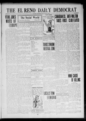 Primary view of object titled 'The El Reno Daily Democrat (El Reno, Okla.), Vol. 32, No. 29, Ed. 1 Friday, September 29, 1922'.
