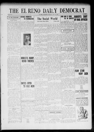 Primary view of object titled 'The El Reno Daily Democrat (El Reno, Okla.), Vol. 32, No. 46, Ed. 1 Saturday, October 21, 1922'.