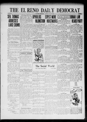 Primary view of object titled 'The El Reno Daily Democrat (El Reno, Okla.), Vol. 32, No. 47, Ed. 1 Monday, October 23, 1922'.