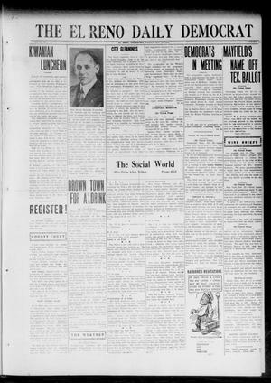 Primary view of object titled 'The El Reno Daily Democrat (El Reno, Okla.), Vol. 32, No. 51, Ed. 1 Friday, October 27, 1922'.