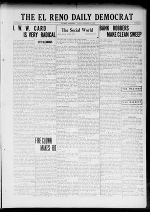 Primary view of object titled 'The El Reno Daily Democrat (El Reno, Okla.), Vol. 32, No. 91, Ed. 1 Friday, December 15, 1922'.