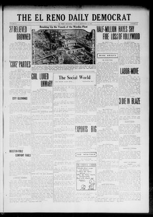 Primary view of object titled 'The El Reno Daily Democrat (El Reno, Okla.), Vol. 32, No. 93, Ed. 1 Monday, December 18, 1922'.