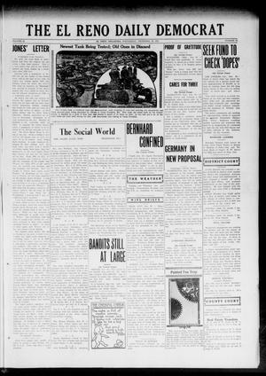 Primary view of object titled 'The El Reno Daily Democrat (El Reno, Okla.), Vol. 32, No. 95, Ed. 1 Wednesday, December 20, 1922'.