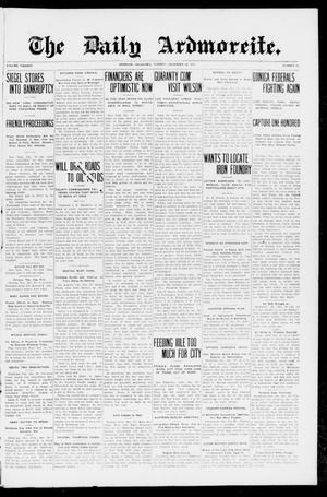 Primary view of object titled 'The Daily Ardmoreite. (Ardmore, Okla.), Vol. 20, No. 72, Ed. 1 Tuesday, December 30, 1913'.
