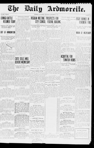 Primary view of object titled 'The Daily Ardmoreite. (Ardmore, Okla.), Vol. 20, No. 73, Ed. 1 Wednesday, December 31, 1913'.