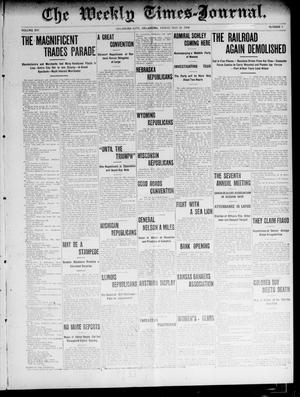 Primary view of object titled 'The Weekly Times-Journal. (Oklahoma City, Okla.), Vol. 16, No. 5, Ed. 1 Friday, May 20, 1904'.