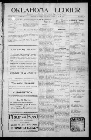 Primary view of object titled 'Oklahoma Ledger (Sterling, Okla.), Vol. 7, No. 40, Ed. 1 Thursday, May 2, 1912'.