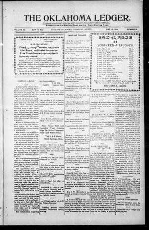 Primary view of object titled 'The Oklahoma Ledger. (Sterling, Okla.), Vol. 11, No. 23, Ed. 1 Thursday, May 18, 1916'.