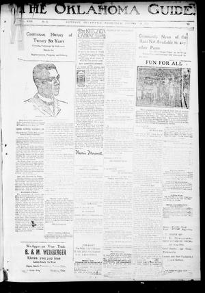 Primary view of The Oklahoma Guide. (Guthrie, Okla.), Vol. 29, No. 34, Ed. 1 Thursday, January 29, 1920
