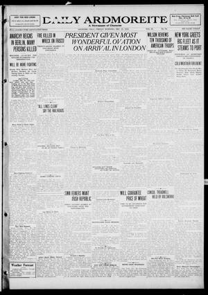 Primary view of object titled 'Daily Ardmoreite (Ardmore, Okla.), Vol. 26, No. 79, Ed. 1 Friday, December 27, 1918'.