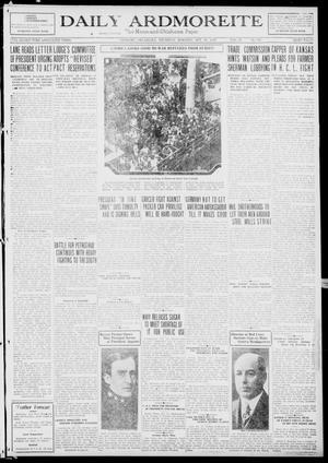 Primary view of Daily Ardmoreite (Ardmore, Okla.), Vol. 26, No. 340, Ed. 1 Thursday, October 23, 1919