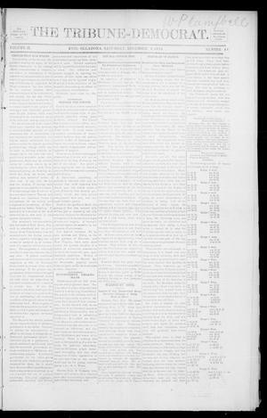 Primary view of object titled 'The Tribune-Democrat. (Enid, Okla.), Vol. 2, No. 11, Ed. 1 Saturday, December 8, 1894'.