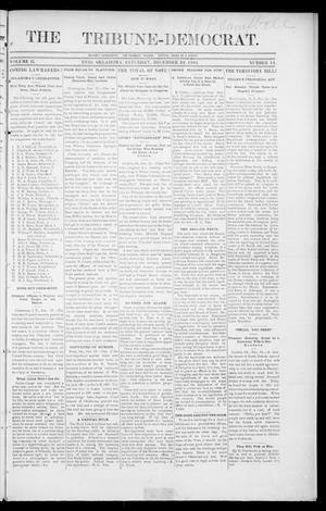 Primary view of object titled 'The Tribune-Democrat. (Enid, Okla.), Vol. 2, No. 14, Ed. 1 Saturday, December 22, 1894'.