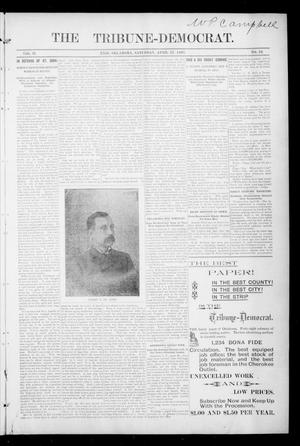 Primary view of object titled 'The Tribune-Democrat. (Enid, Okla.), Vol. 2, No. 32, Ed. 1 Saturday, April 27, 1895'.