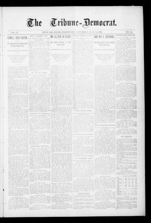 Primary view of object titled 'The Tribune--Democrat. (Enid, Okla. Terr.), Vol. 2, No. 43, Ed. 1 Saturday, July 13, 1895'.