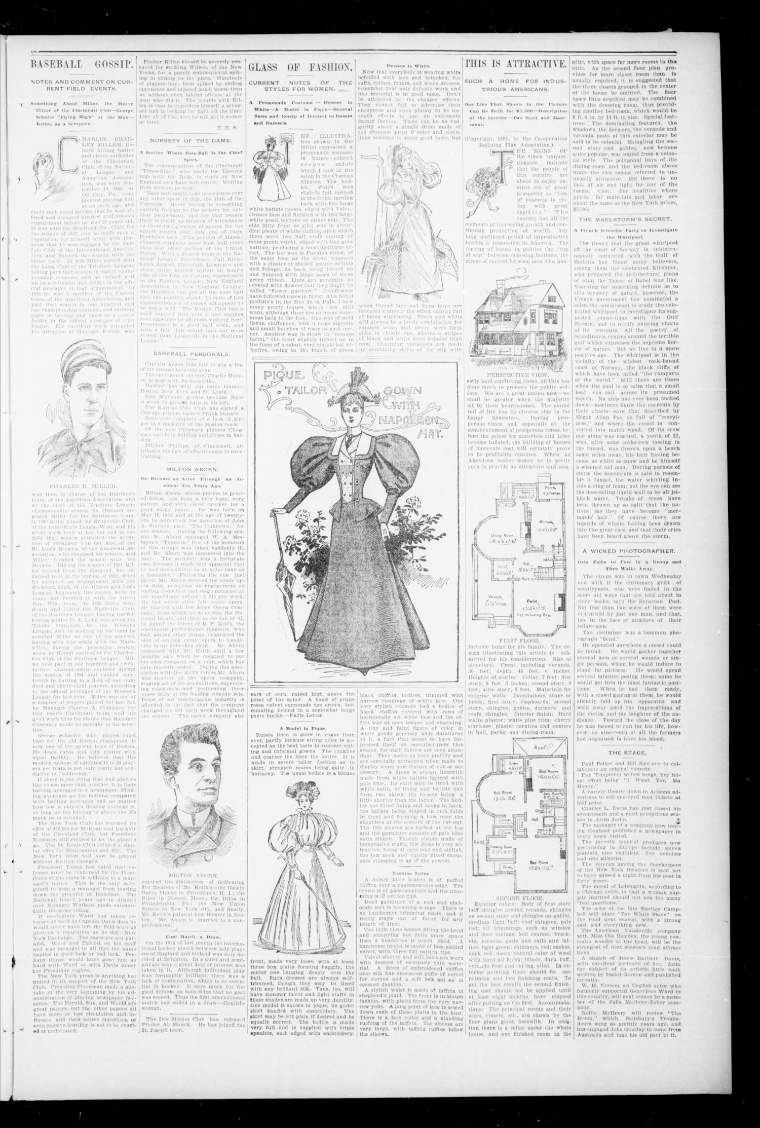 The Tribune--Democrat. (Enid, Okla. Terr.), Vol. 2, No. 43, Ed. 1 Saturday, July 13, 1895                                                                                                      [Sequence #]: 3 of 8