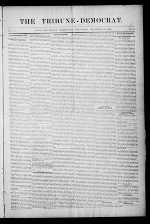 The Tribune-Democrat. (Enid, Okla. Terr.), Vol. 3, No. 4, Ed. 1 Saturday, October 19, 1895