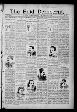 Primary view of object titled 'The Enid Democrat. (Enid, Okla. Terr.), Vol. 3, No. 38, Ed. 1 Saturday, May 2, 1896'.