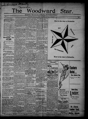Primary view of object titled 'The Woodward Star. (Woodward, Okla.), Vol. 1, No. 3, Ed. 1 Saturday, September 12, 1896'.