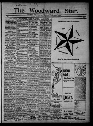 Primary view of object titled 'The Woodward Star. (Woodward, Okla.), Vol. 1, No. 9, Ed. 1 Saturday, October 24, 1896'.