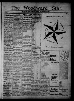 Primary view of object titled 'The Woodward Star. (Woodward, Okla.), Vol. 1, No. 10, Ed. 1 Saturday, October 31, 1896'.
