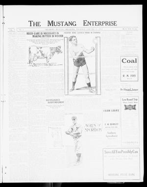 Primary view of object titled 'The Mustang Enterprise (Oklahoma [Mustang], Okla.), Vol. 8, No. 4, Ed. 1 Thursday, January 11, 1912'.