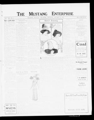 Primary view of object titled 'The Mustang Enterprise (Oklahoma [Mustang], Okla.), Vol. 8, No. 5, Ed. 1 Thursday, January 18, 1912'.