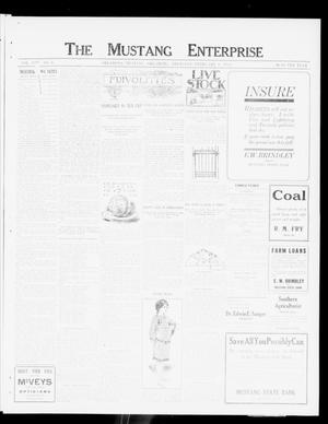 Primary view of object titled 'The Mustang Enterprise (Oklahoma [Mustang], Okla.), Vol. 8, No. 8, Ed. 1 Thursday, February 8, 1912'.