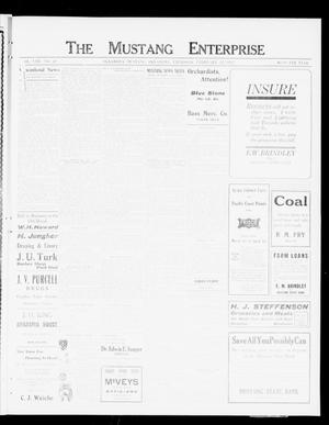 Primary view of object titled 'The Mustang Enterprise (Oklahoma [Mustang], Okla.), Vol. 8, No. 10, Ed. 1 Thursday, February 22, 1912'.