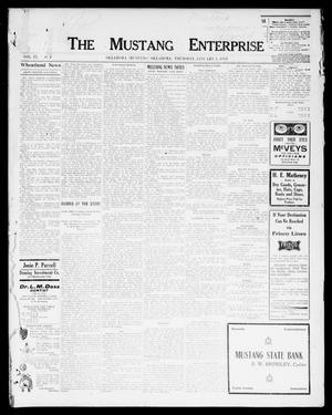 Primary view of object titled 'The Mustang Enterprise (Oklahoma [Mustang], Okla.), Vol. 9, No. 2, Ed. 1 Thursday, January 2, 1913'.