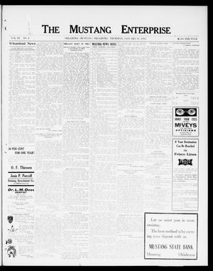 Primary view of object titled 'The Mustang Enterprise (Oklahoma [Mustang], Okla.), Vol. 9, No. 4, Ed. 1 Thursday, January 16, 1913'.