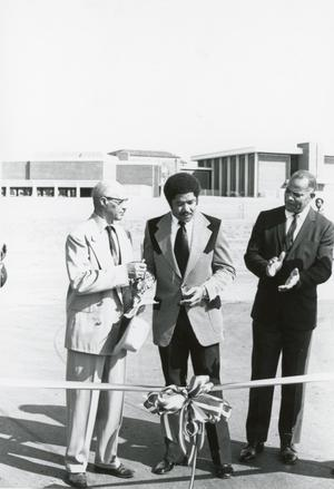 Primary view of object titled 'Ribbon Cutting Ceremony'.