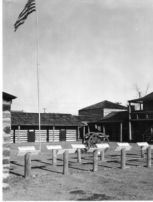 Primary view of object titled 'Fort Gibson Stockade'.