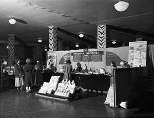 Primary view of object titled 'Chickasha Industries Booth'.