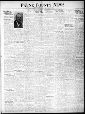 Primary view of Payne County News (Stillwater, Okla.), Vol. 45, No. 12, Ed. 1 Friday, November 20, 1936