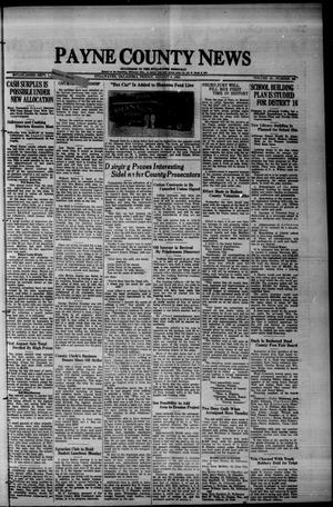 Primary view of Payne County News (Stillwater, Okla.), Vol. 43, No. 50, Ed. 1 Friday, August 9, 1935