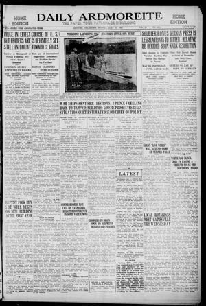 Primary view of Daily Ardmoreite (Ardmore, Okla.), Vol. 28, No. 230, Ed. 1 Monday, July 11, 1921