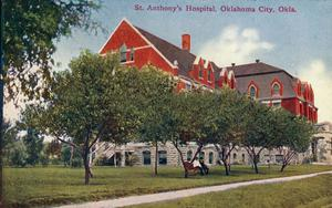 Primary view of object titled 'St. Anthony's Hospital'.
