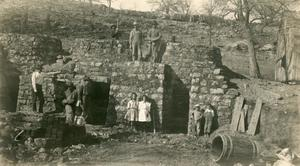 Primary view of object titled 'Richards' Lime Kilns'.